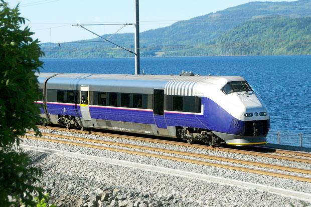 NSB Norwegen BM 73 Bahnfoto P.Trippi