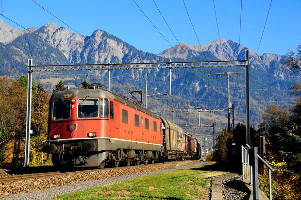 SBB Cargo Re 620 Bahnfoto P.Trippi