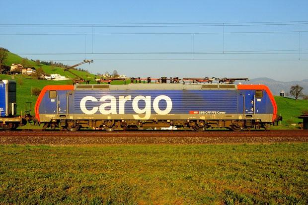 SBB Cargo International Re 474 Bahnfoto P.Trippi