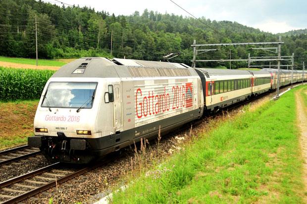 SBB Re 460 Intercity Bahnfoto P.Trippi