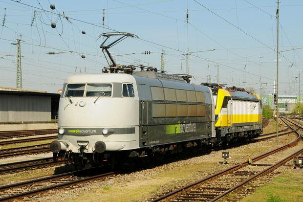 Railadventure BR 103 Swiss Rail Traffic 487 Bahnfoto P.Trippi
