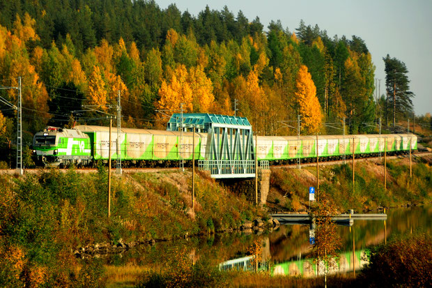 Siemens Vectron VR Sr3 Finnland Bahnfoto P.Trippi