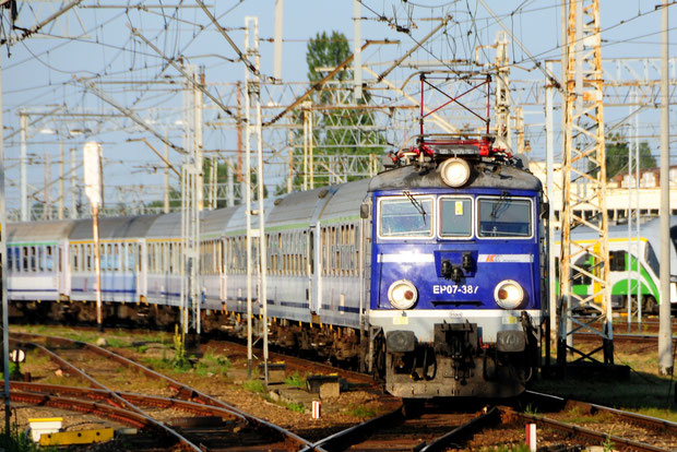 PKP Intercity EP-07 Bahnfoto P.Trippi