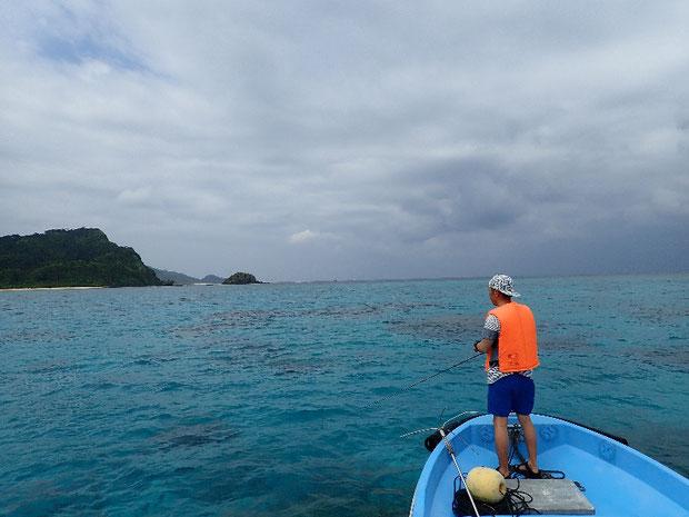 奥西表 船浮、網取、崎山でルアーフィッシング