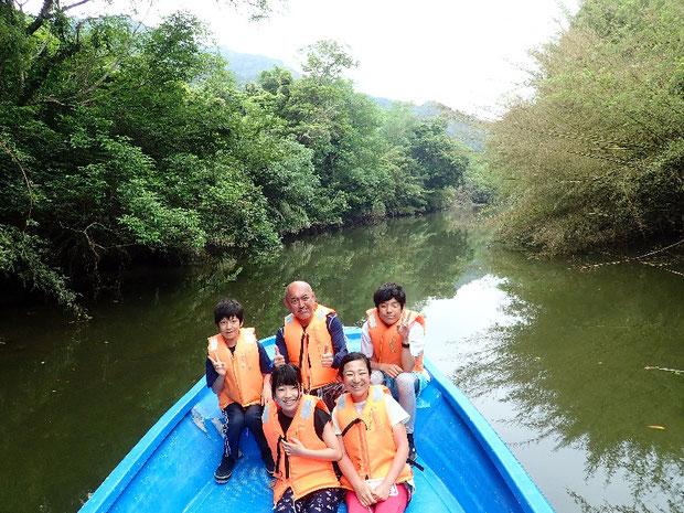 奥西表 仲良川を上りナーラの滝へ