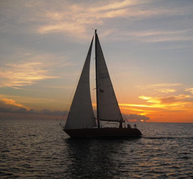 Sailing yacht Papagayo