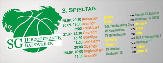 Spieltag 3 14/15