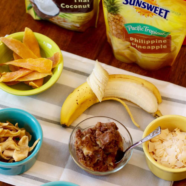 Ready to get snacking? Sunsweet isn't just for prunes! Try these Pacific Tropicals snacks for kids, for a party, or for on the go yummy treats!