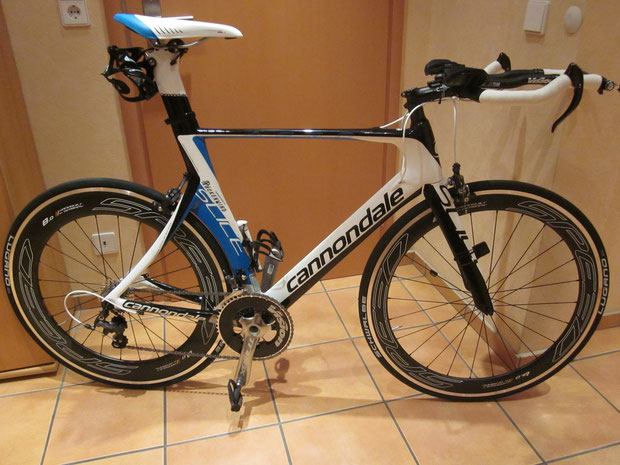 Cannondale Slice3; Veltec Speed 8.0/6.0