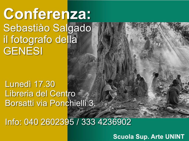 Conferenza Trieste: Sebastiao Salgado CEGEN