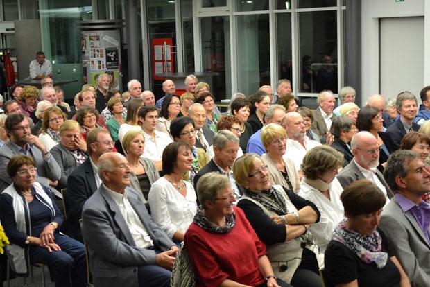 150 begeistere Gäste verfolgten das Programm