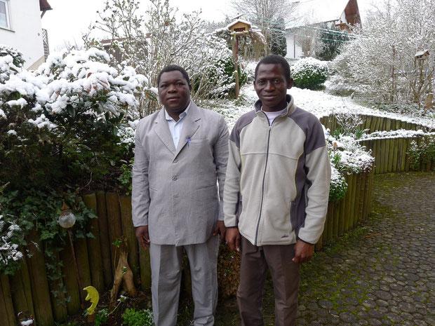 Pierre Mano und Dayeri Damolga - es hat über Nacht geschneit