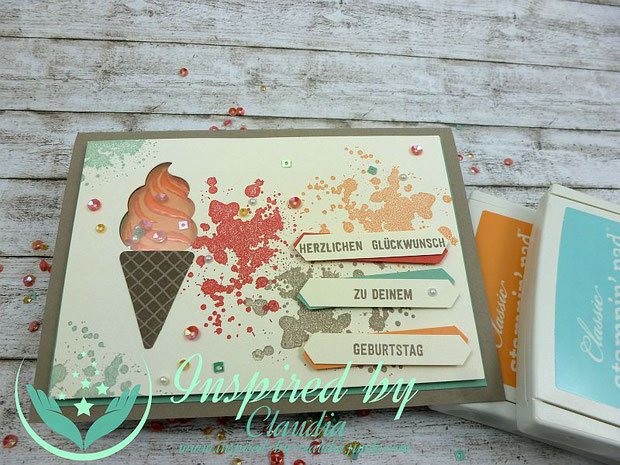 Stampin' up! Stempelset Eis Eis Baby