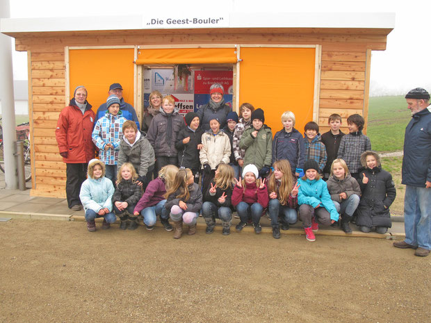 18.11.2011 - Es hat allen Spaß gemacht, den Schülerinnen und Schülern, den Lehrerinnen und auch den Geest-Boulern.