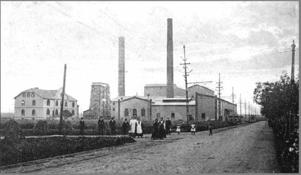 1907 gründete Manske neben der Zementfabrik Germania in Lehrte auch die Zementfabrik Alemannia im benachbarten Höver. Das Bild entstand ca. drei Jahre später.