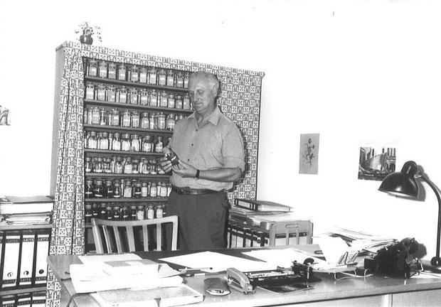 Dr. Roux kam Ende der 40er Jahre zusammen mit Dr. Milatz von der Zentralstelle der DDR in Nossen nach Rethmar
