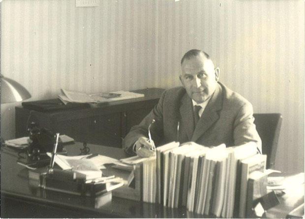 C.H. Roemer, der erste Leiter des Bundessortenamts