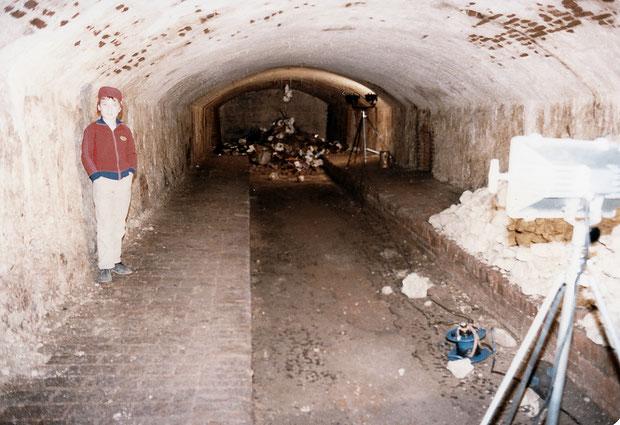 Der ältere Eiskeller in Anderten   ist bis heute erhalten geblieben.
