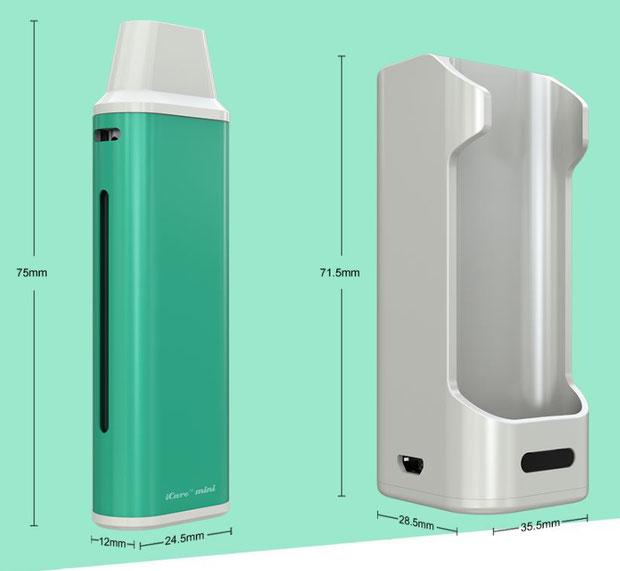iCare Mini PCC - eLeaf - Cigarrillo electrónico Pequeño