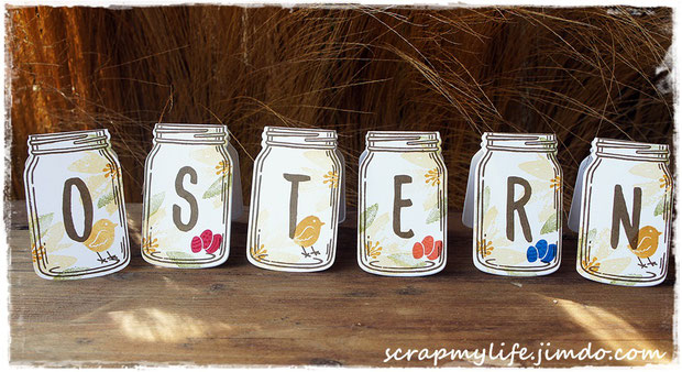 stampin up - Everday Jars Framelits - Glasklare Grüße