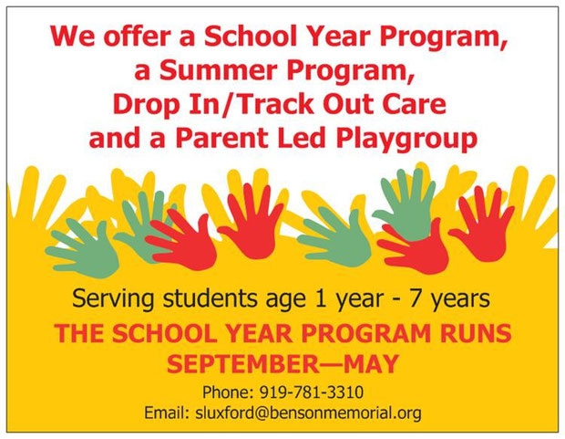 Preschool Summer playgroup north Raleigh NC 27612