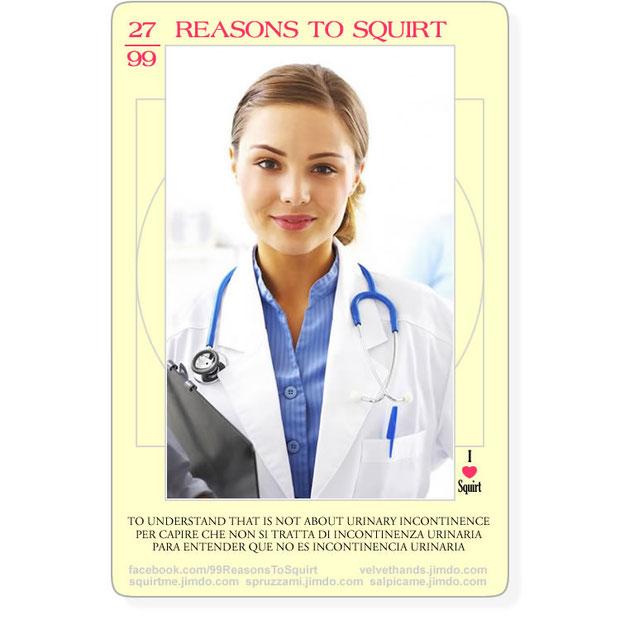 el squirting no es una enfermedad en absoluto como a menudo viene definido de los mismos ginecologos | SALPICAME :: la completa guia al squirting