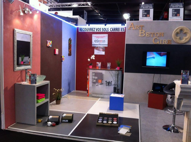 Actualites beton cire bordeaux plafonds tendus chapes for Salon habitat bordeaux