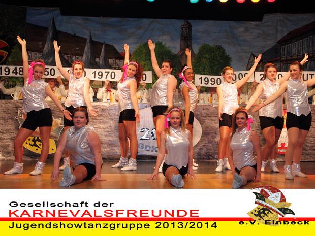 Jugendshowtanz 2013/2014