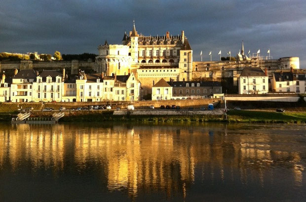 Lumière d'automne sur le château