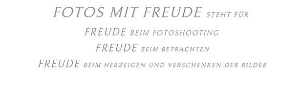 FOTOS MIT FREUDE - Fotostudio: Fotograf und Fotostudio in Erlangen bietet Fotoshootings aller Art