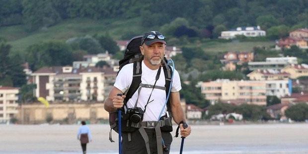 « Je suis fou des Pyrénées. Mon rêve serait de finir ma vie avec ma femme dans un chalet paumé dans la montagne, en bois si possible. »    © Photo Bertrand Lapègue