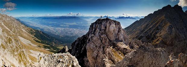 Am Innsbrucker Klettersteig