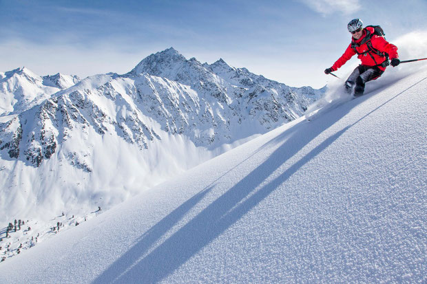 Skispass im Kühtai (Fahrer: Alexander Röck)