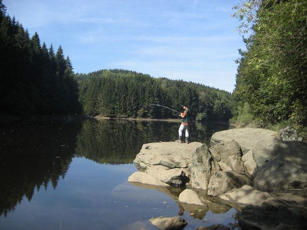 Angeln, Fliegenfischen, Angelurlaub