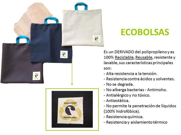 En Amantani utilizamos Eco Bolsas