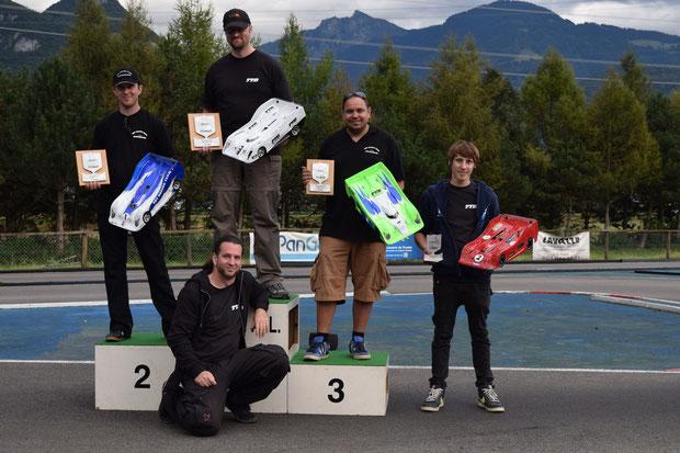 Die 4 Besten gesamt Rangliste Mc Best 2014, Stefan, André, Martin und Oli alle unterwegs mit Motoren, Regler und Lipos von TTB!
