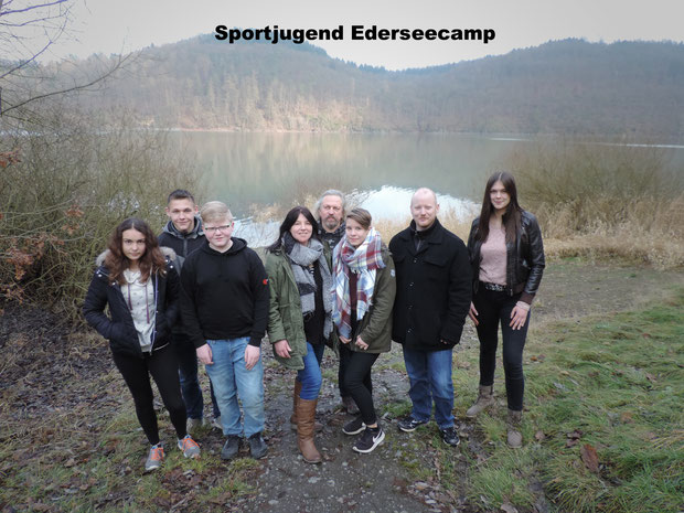 von links:  Julia, Nicolas, Maximilian, Sylvia, Olli, Jenny, Thorsten, Lea / Foto: Steff