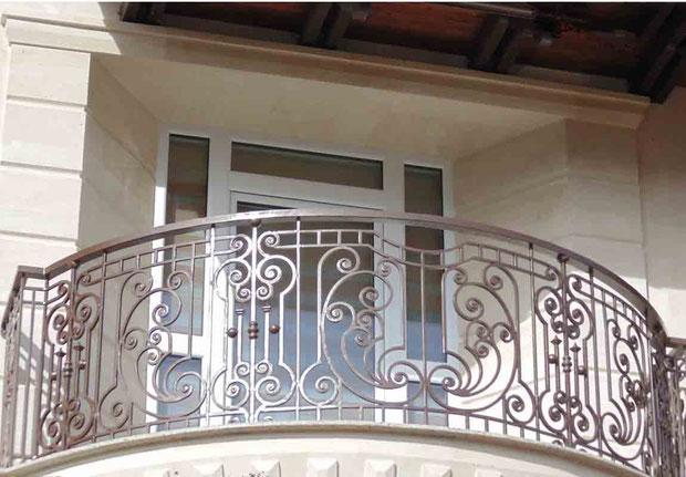 Балкон красивый в Кургане