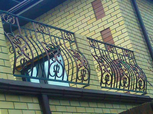 Кованые балконы Курган