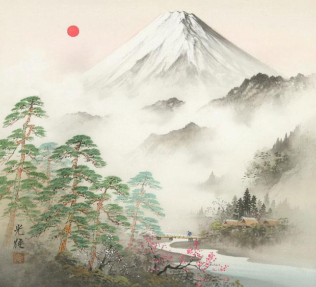 Японское искусство пейзажа