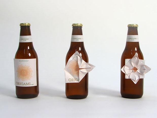 оригинальная этикетка для пива