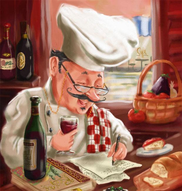веселый повар