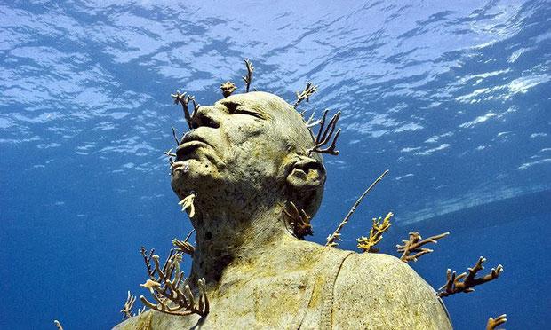 подводный музей скульптур