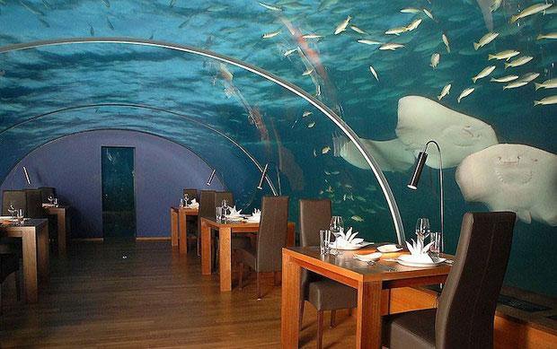 Подводный отель Мальдивы