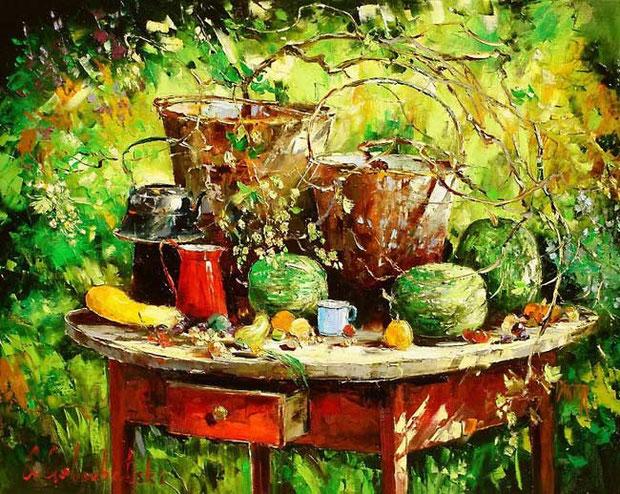 Глеб Голубецкий картины
