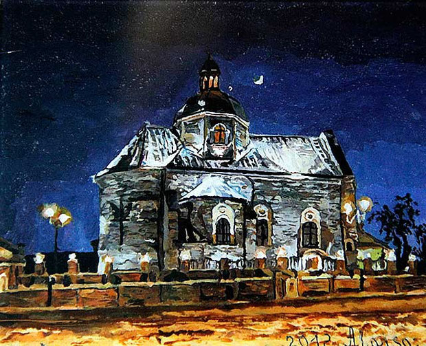 живопись картины храмов