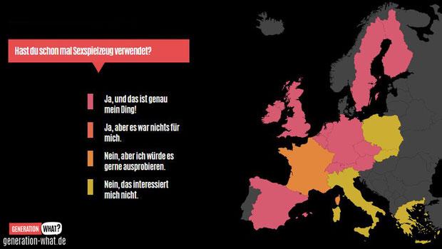 Deutschlands Jugendliche haben die meisten positiven Erfahrungen mit Sextoys gesammelt!
