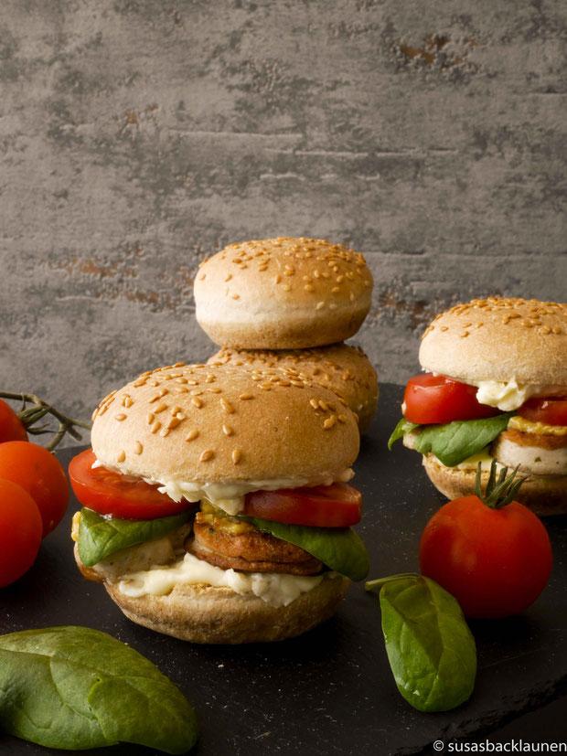 Weißwurstburger