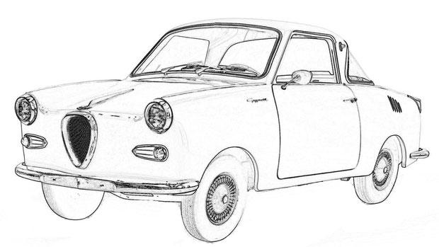 Goggomobil Coupé TS250