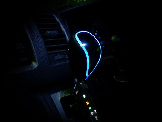 LEDシフトノブ使用イメージ
